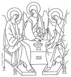 277x300 Holy Trinity Coloring Pages Sketch Template Holy
