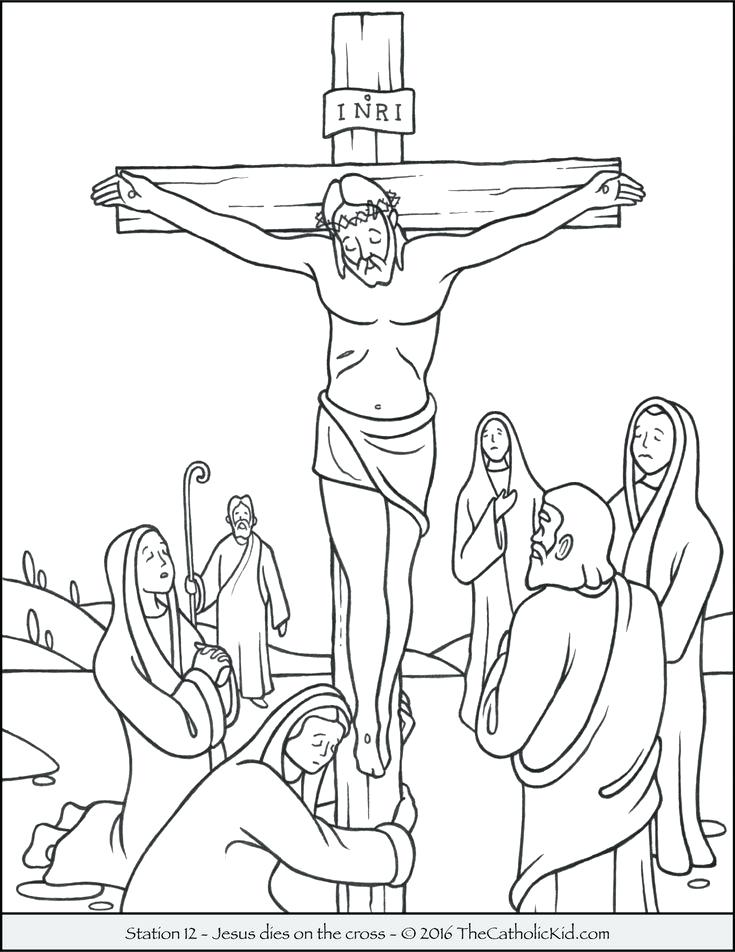 Holy Week Coloring Pages