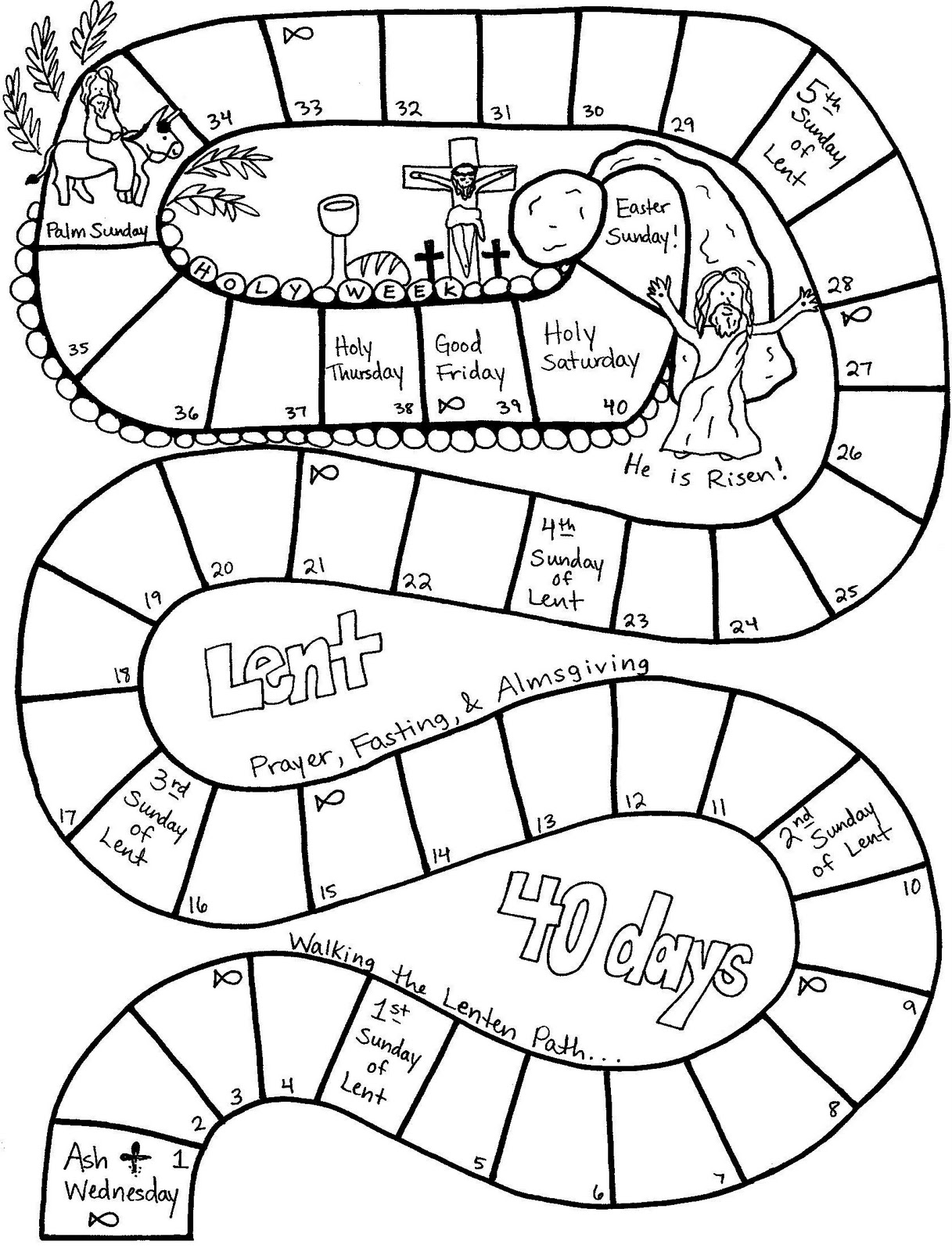 1217x1600 Lent Coloring Pages On Lent Coloring Pages Worksheets Photos Holy