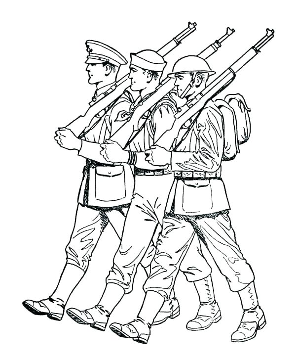 600x734 Awesome Soldier Coloring Page Welcome Home Military Coloring Pages
