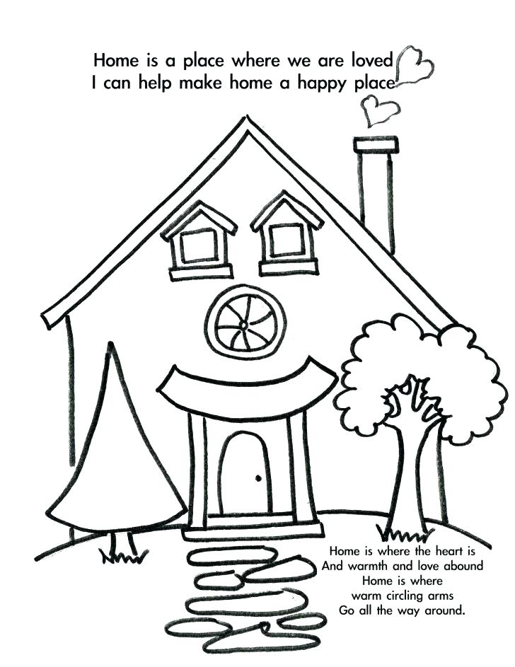 728x943 Home Coloring Page Home Alone Coloring Pages Welcome Beavers