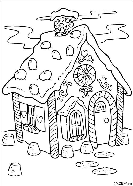 567x794 Cake Coloring Pages
