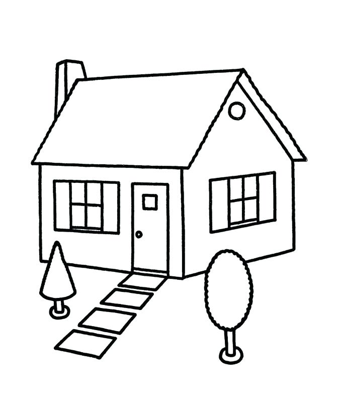 670x820 Home Coloring Pages Cool House Coloring Page For Coloring Pages