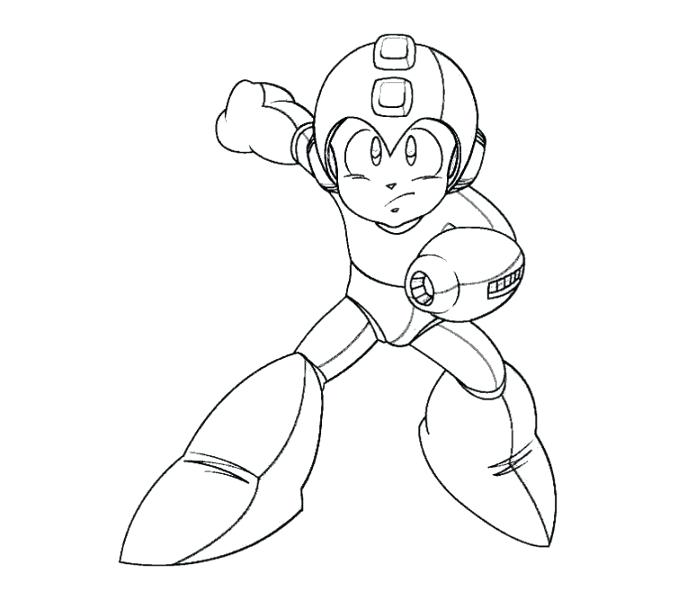 678x600 Home Coloring Pages Mega Man Coloring Pages Mega Man Coloring Page