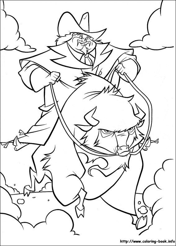 Home On The Range Coloring Pages