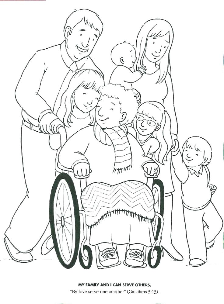 736x1000 Helping Others Coloring Pages Helping Others Give Warm Clothes