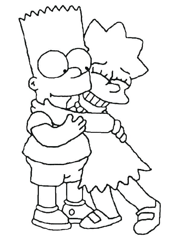 600x800 Simpson Coloring Pages Homer Simpson Coloring Pages