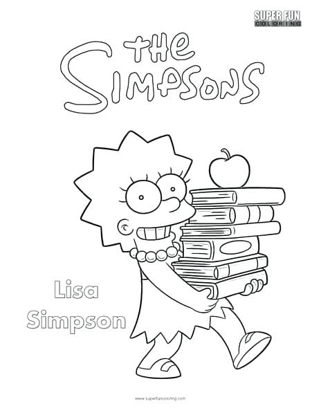 464x600 Simpsons Coloring Page The Coloring Page Homer Simpson Colouring