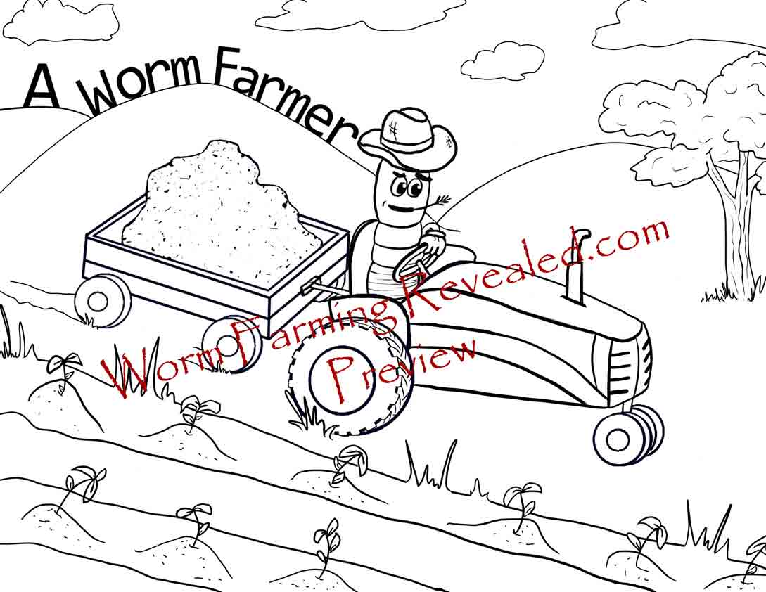 1089x842 Worm Coloring Pages