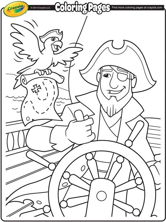 572x762 Pirate Ship Pobarvanke Pirate Ships
