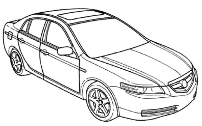Honda Civic Coloring Pages At Getdrawings Com