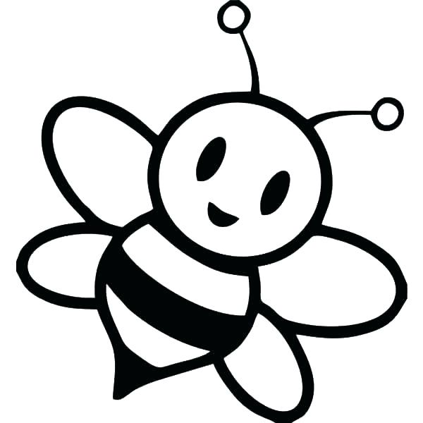 600x600 Honey Bee Coloring Pages Honey Bee Coloring Page Pages Sheets