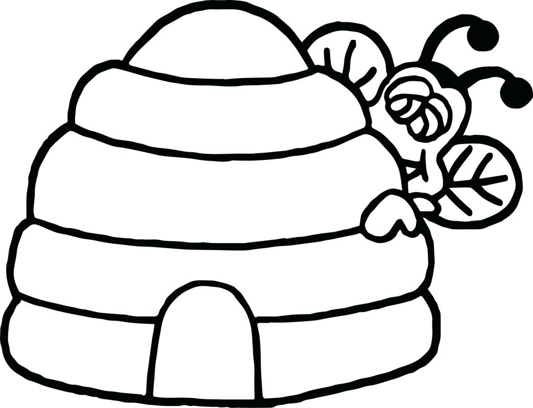 Honey Pot Coloring Page At Getdrawings Com Free For Personal Use