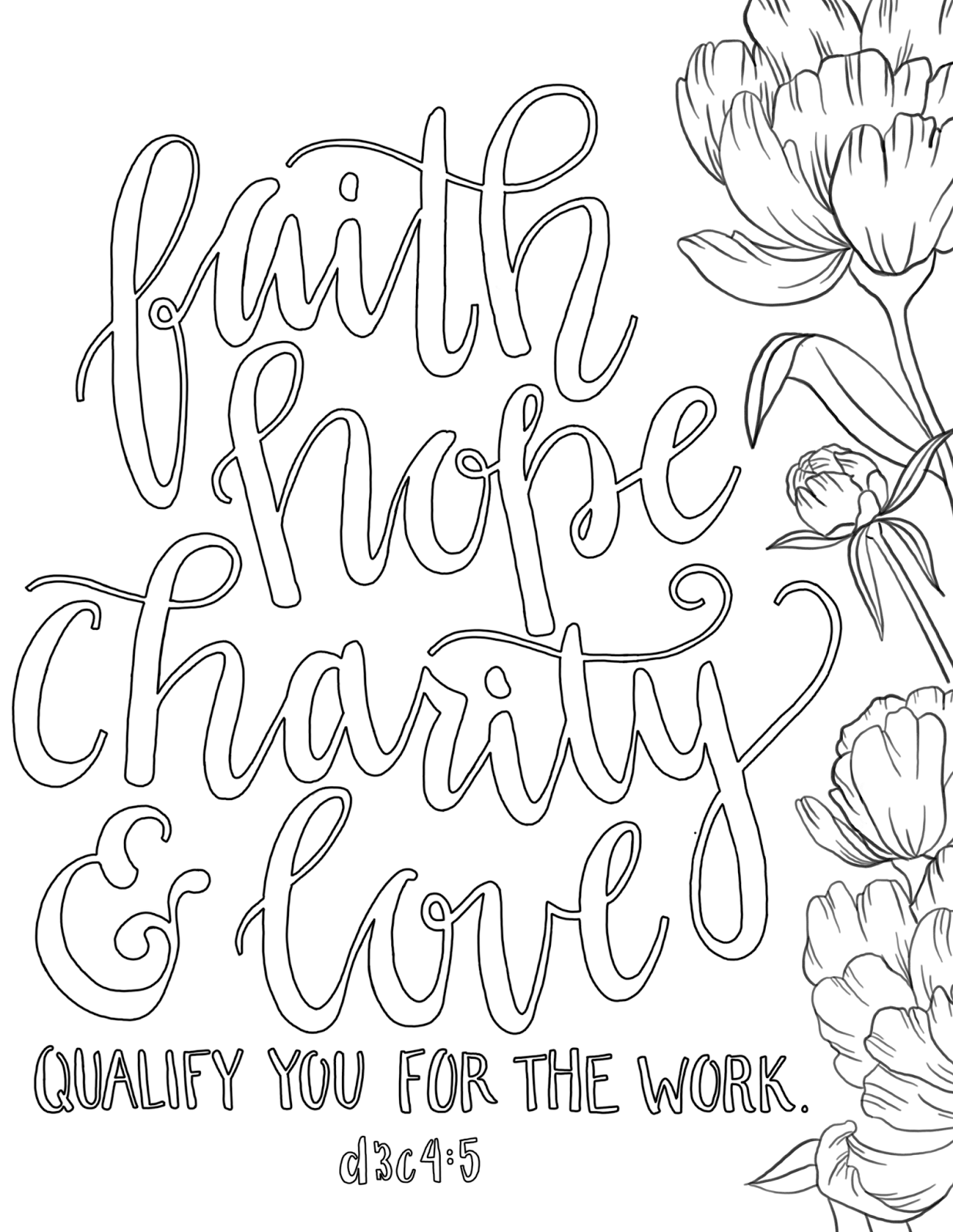 Hope Coloring Pages at GetDrawings | Free download
