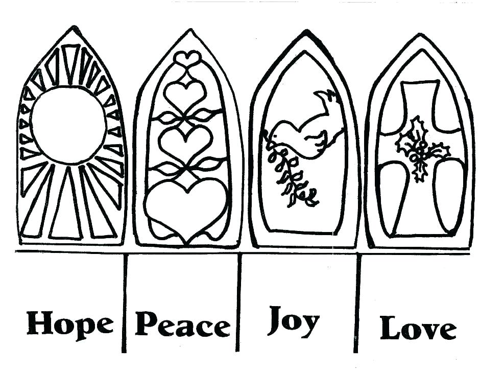 940x726 Advent Coloring Sheets Advent Coloring Pages Hope