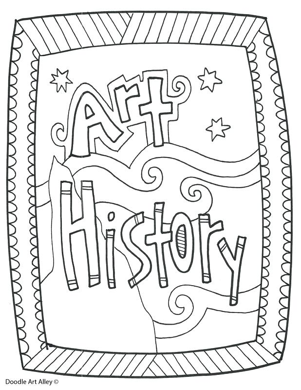 618x800 Subject Cover Pages Coloring Pages Classroom Doodles Free