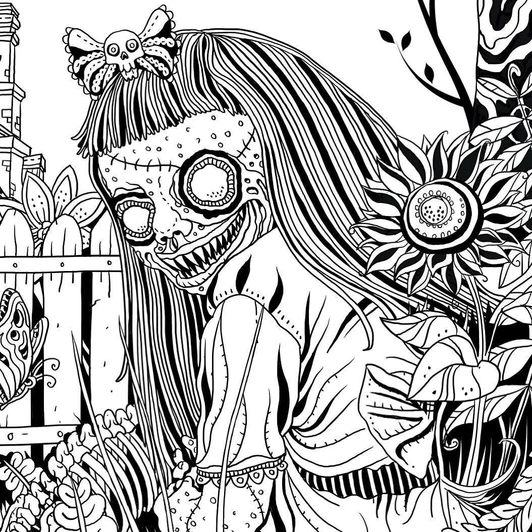 1054x1054 Alan Robert On Twitter Meet Ghouliana From The Beauty Of Horror