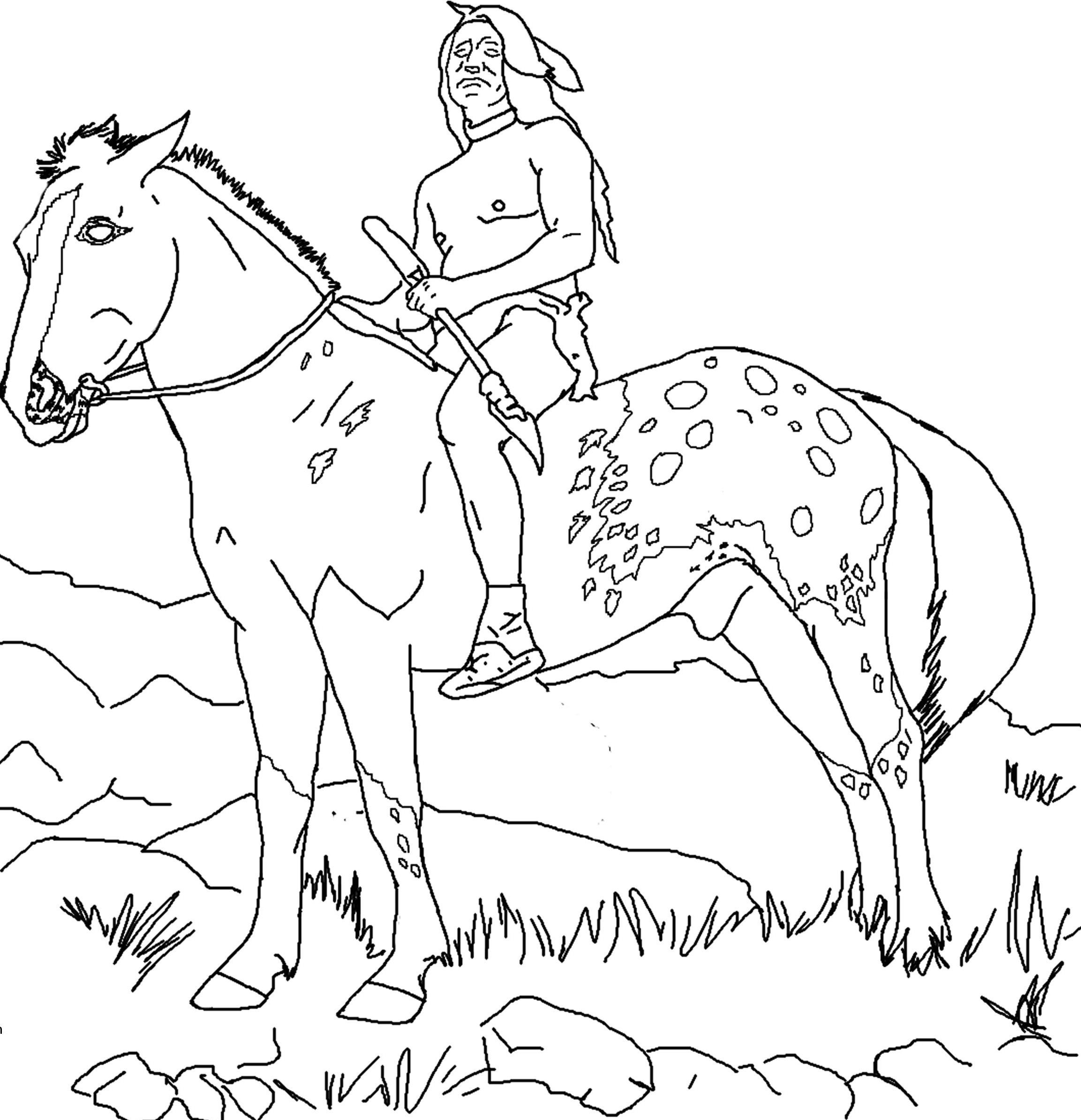 2306x2390 Indian Horse Coloring Sheets Indian Horse Coloring Pages