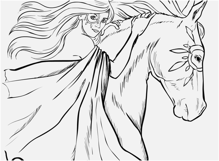 827x609 Grey Arabian Horse Coloring Page Horse Coloring Pages Beautiful