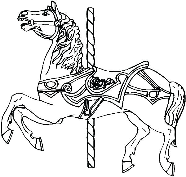 600x573 Coloring Page Of Horse Jockey Silks Coloring Pages Horse Coloring