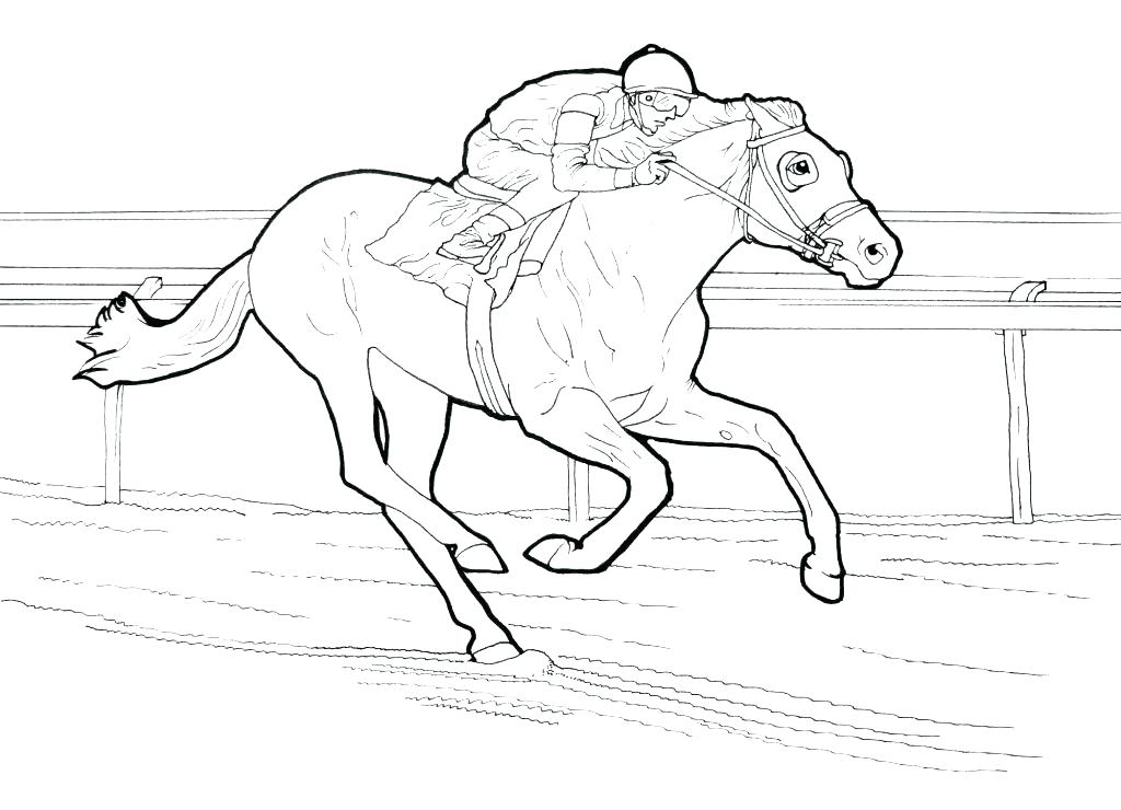 The Best Free Jockey Coloring Page Images Download From 45 Free