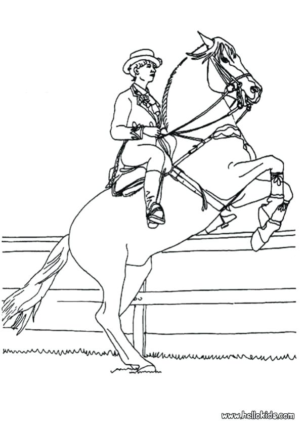 601x850 Coloring Horse Pictures Little Horse Horse Rider Coloring Page