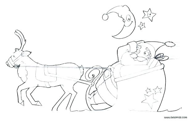 620x394 Sleigh Coloring Page Ride His Famous Sleigh Coloring Pages Sleigh