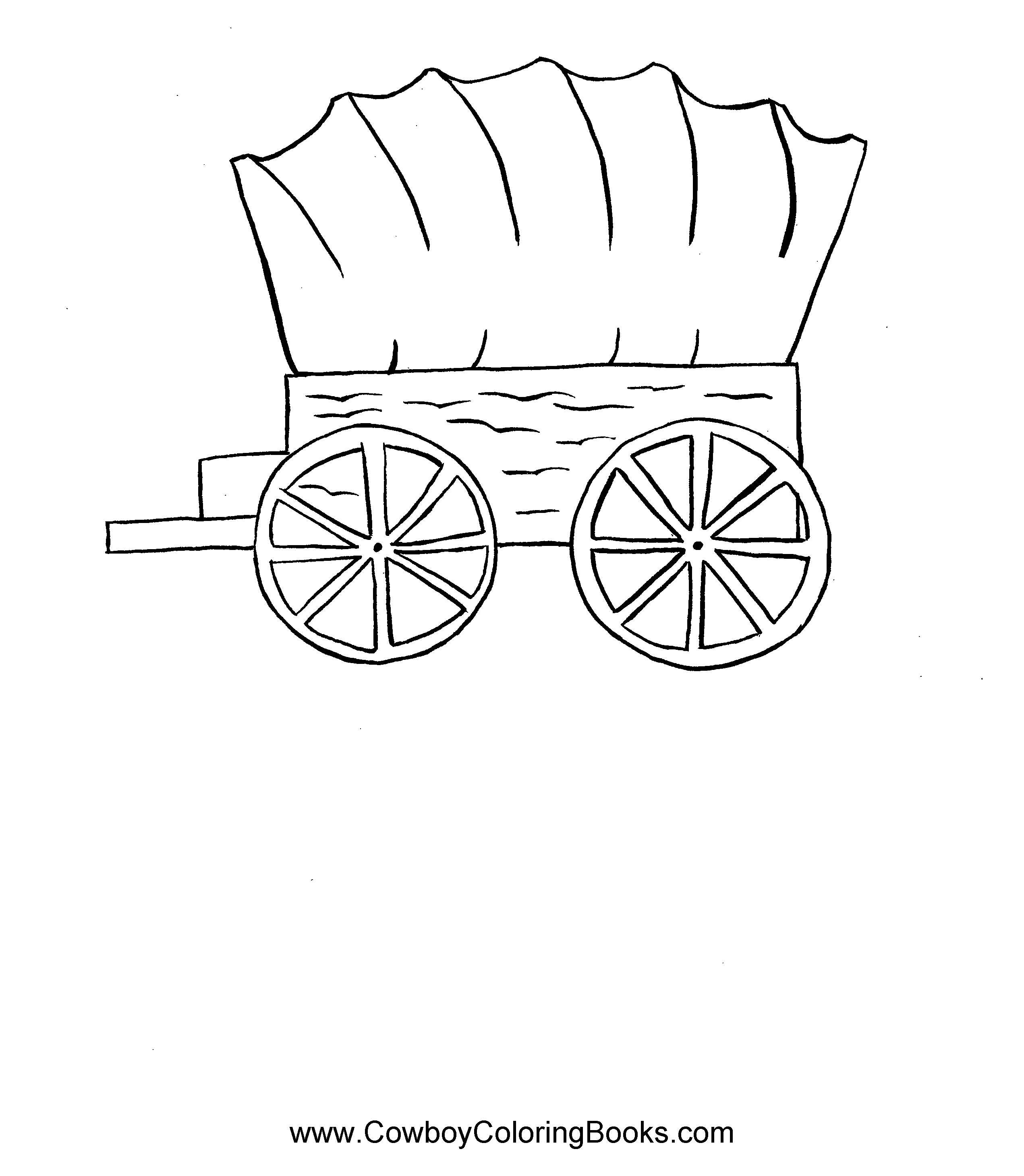 2542x2921 Horses At Work Coloring Pages The Equinest Within Covered Wagon