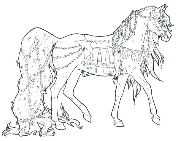 600x476 Horse Coloring Pages Free Mustang Horse Coloring Pages Horse
