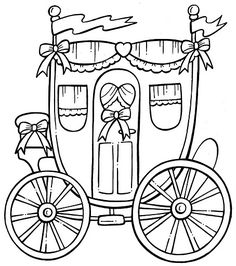 236x266 Princess Coloring Pages Princess Carriage To Color Daycare
