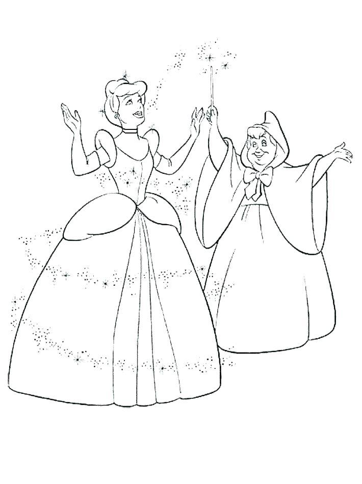 710x950 Cinderella Carriage Coloring Page Devon Creamteas