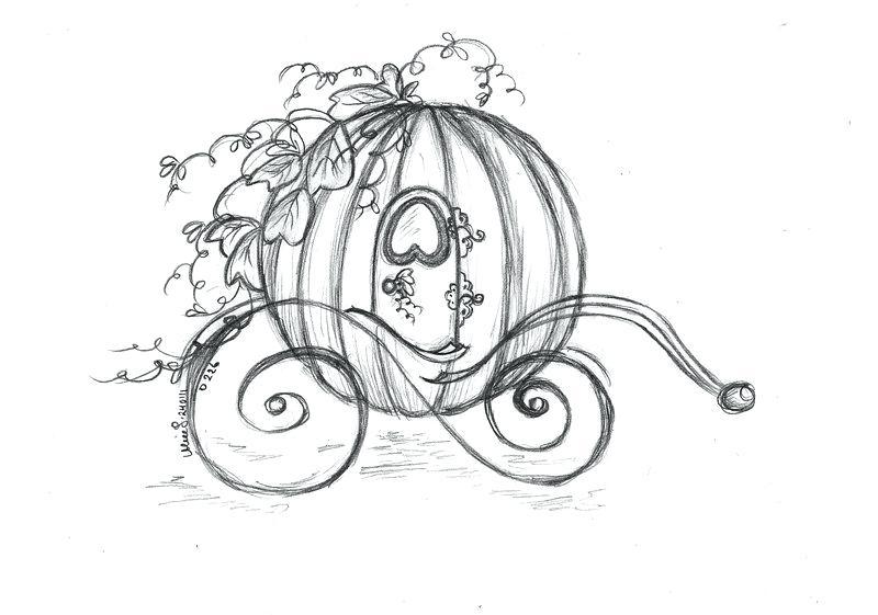 800x561 Cinderella Pumpkin Carriage Coloring Pages