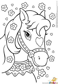 235x338 Top Free Printable Horse Coloring Pages Online Horse, Craft