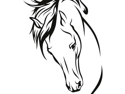 440x330 Draft Horse Coloring Pages Free Draft Horse Coloring Pages