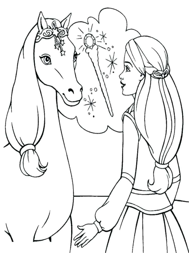 750x1000 Printable Horse Coloring Pages In Addition To Tremendous Horse