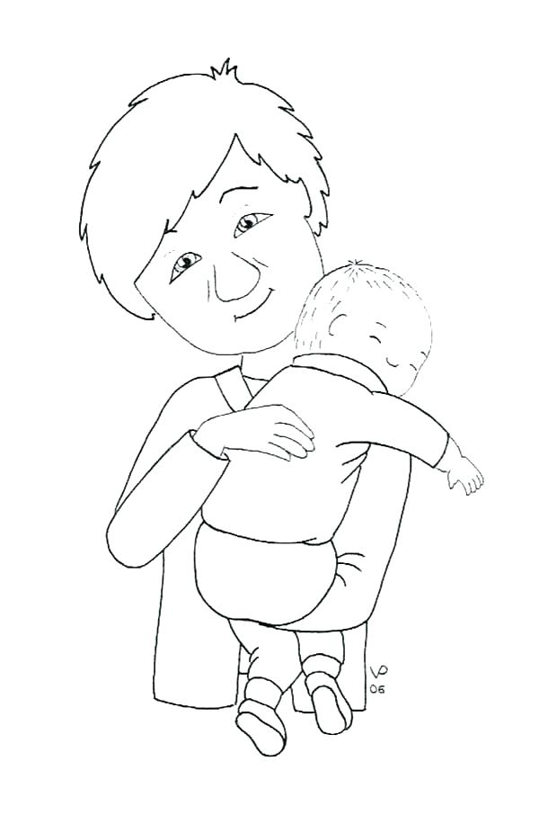 600x906 Baby Horse Coloring Pages Baby Horse Coloring Pictures New Baby