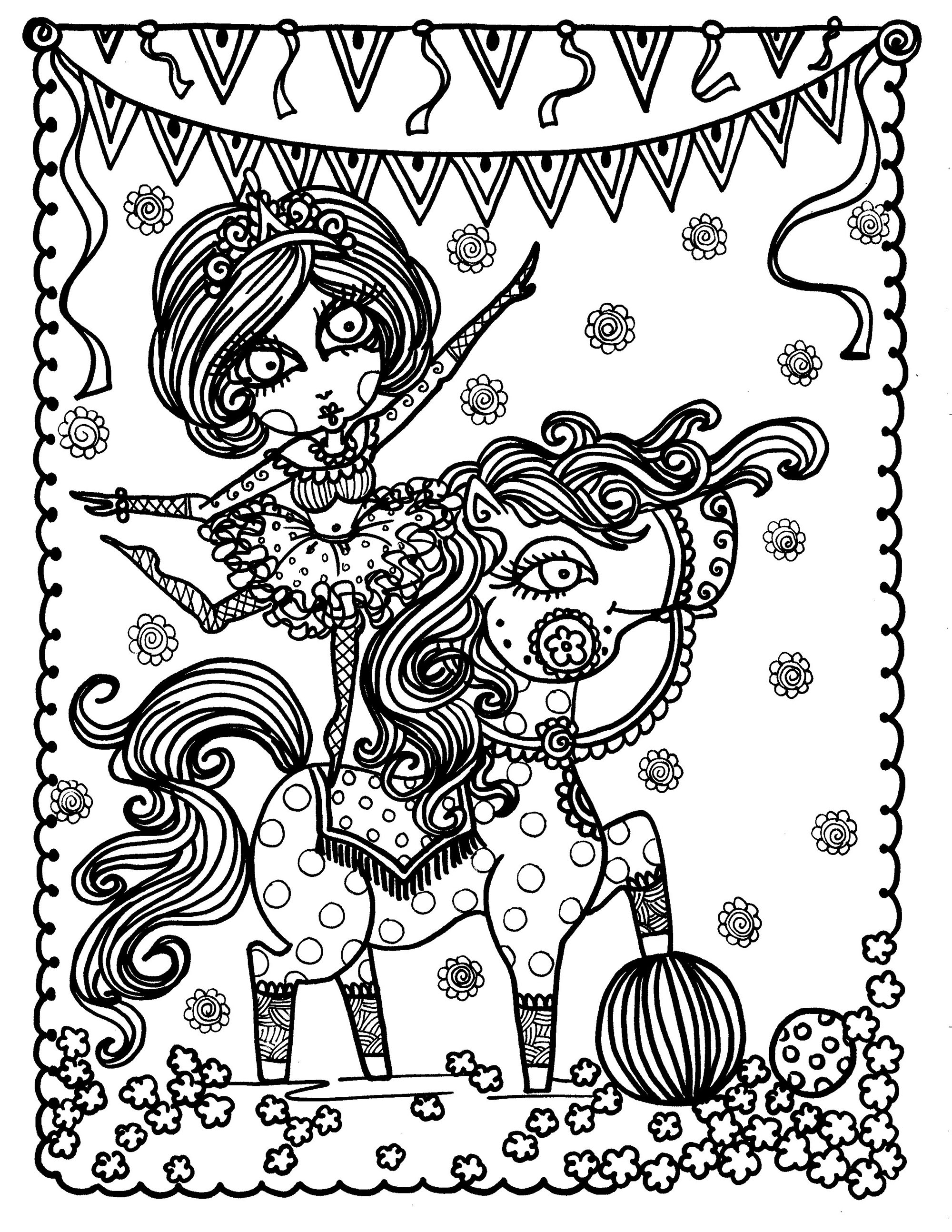 2000x2588 Top Horse Coloring Pages For Adults Coloring B Unknown