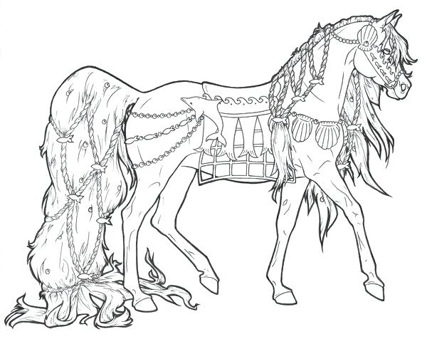 600x476 Coloring Horse Pages Horse Coloring Pages For Girls Printable Kids