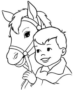 236x288 Animal Coloring Page Of Horse To Print Free Printable, Horse