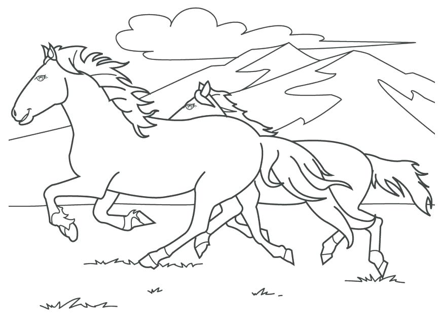 870x653 Carousel Animals Coloring Pages Printable Coloring Pages Of Horses