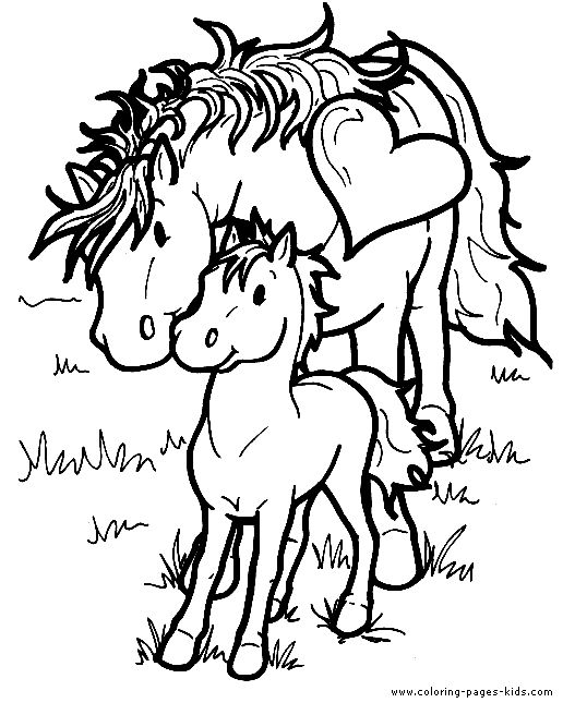 527x656 Coloring Pages Horses