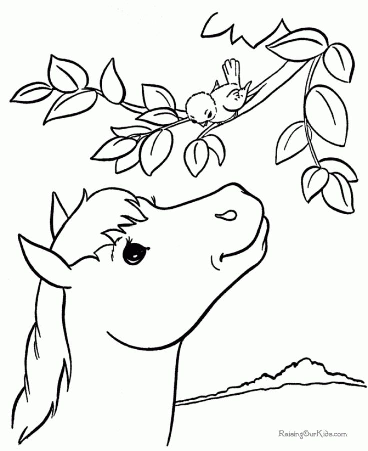 Horse Coloring Pages Games