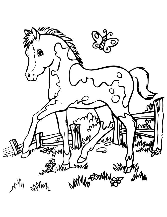670x867 Spirit Horse Coloring Pages Printable New Best Colouring