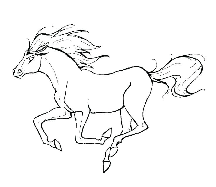736x638 Free Horse Coloring Pages Spirit Coloring Pages Horse Coloring