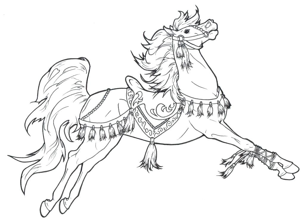 1024x748 Horse Coloring Sheets Carousel Horse Coloring Pages Coloring Pages