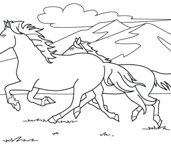 678x600 Horse Coloring Pages Free Horse Coloring Books Plus Horses