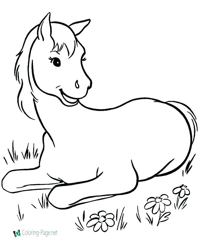 670x820 Spirit Horse Coloring Pages