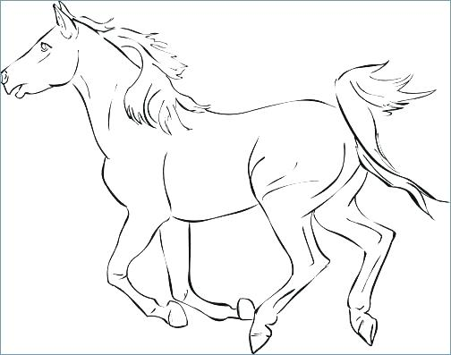 Horse Galloping Coloring Pages at GetDrawings.com   Free for ...