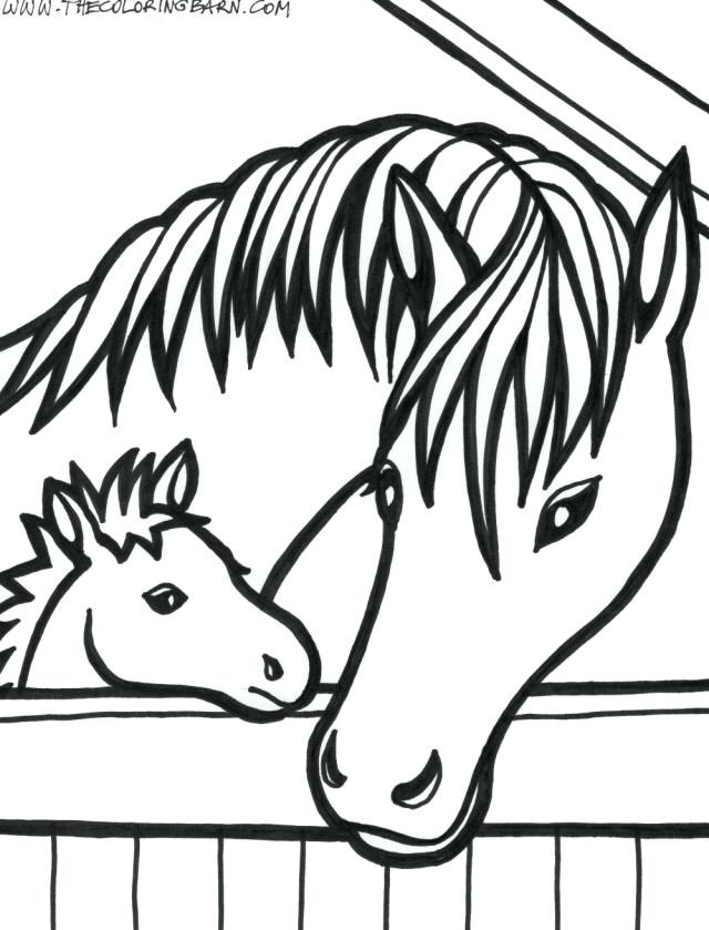 640x839 Horse Head Coloring Page Horse Head Coloring Pages To Print