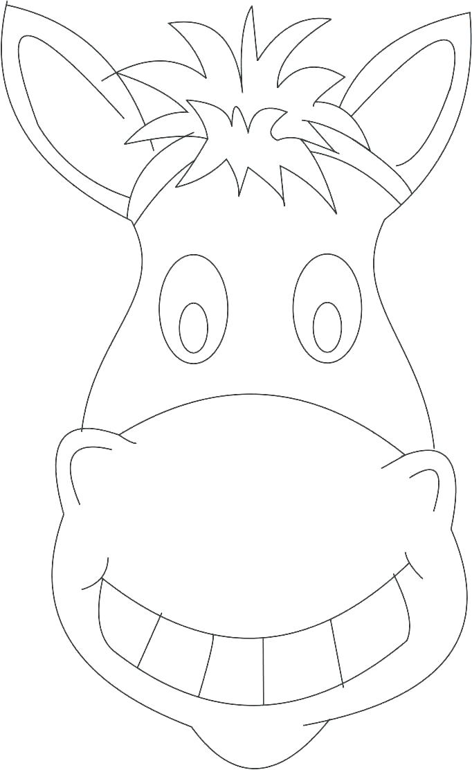682x1112 Horse Head Coloring Pages To Print Horse Head Coloring Pages